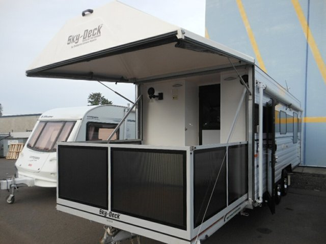 Discounted Used Kingston Protea Sky Deck 612GT, Pialba, 2013 Kingston Protea Sky Deck 612GT Caravan