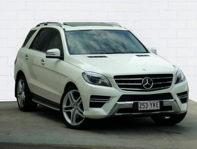Used Mercedes-Benz ML350 BlueEFFICIENCY 4x4, Moorooka, 2013 Mercedes-Benz ML350 BlueEFFICIENCY 4x4 Wagon