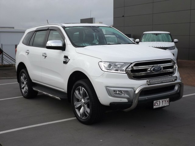 Used Ford Everest Titanium, Toowoomba, 2018 Ford Everest Titanium Wagon