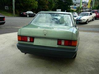1988 Mercedes-Benz 190 E Sedan.