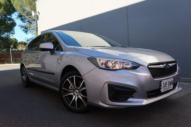Used Subaru Impreza 2.0i CVT AWD, Reynella, 2018 Subaru Impreza 2.0i CVT AWD Hatchback