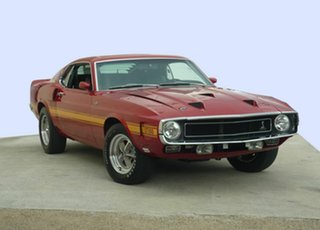 1969 Ford Mustang 428 CobraJet Coupe.