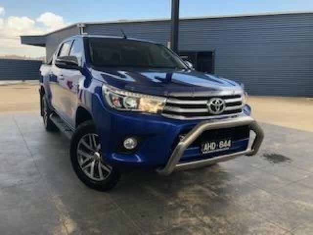 Used Toyota Hilux SR5 (4x4), Wangaratta, 2016 Toyota Hilux SR5 (4x4) Dual Cab Utility
