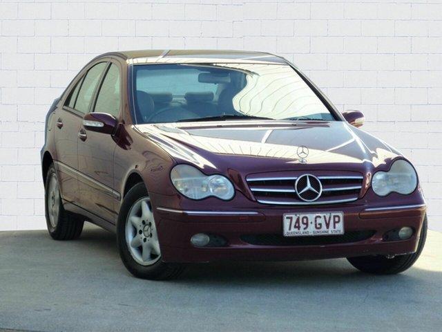 Used Mercedes-Benz C200 Kompressor Elegance, Moorooka, 2002 Mercedes-Benz C200 Kompressor Elegance Sedan