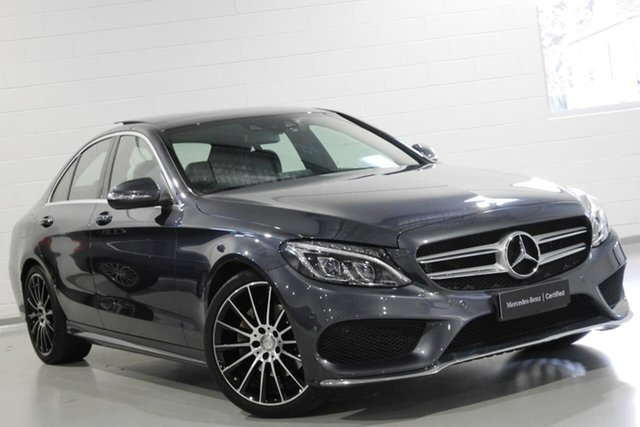Used Mercedes-Benz C200 7G-Tronic +, Warwick Farm, 2015 Mercedes-Benz C200 7G-Tronic + Sedan