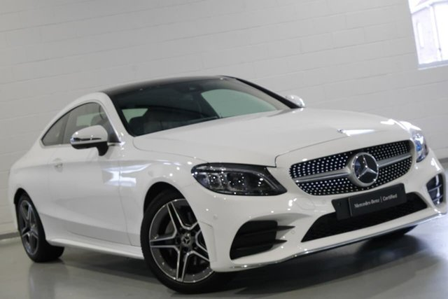 Used Mercedes-Benz C200 9G-Tronic, Chatswood, 2018 Mercedes-Benz C200 9G-Tronic Coupe