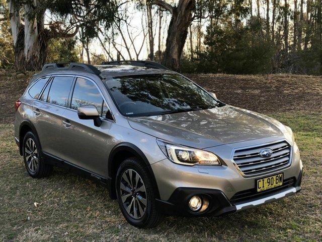Used Subaru Outback 2.5i CVT AWD Premium, Queanbeyan, 2016 Subaru Outback 2.5i CVT AWD Premium Wagon