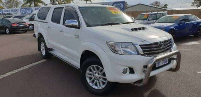 Discounted Used Toyota Hilux SR5 Double Cab, East Bunbury, 2013 Toyota Hilux SR5 Double Cab Utility
