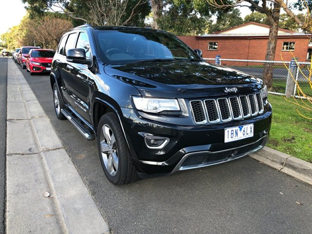 Used Jeep Grand Cherokee Overland, Cranbourne, 2014 Jeep Grand Cherokee Overland Wagon