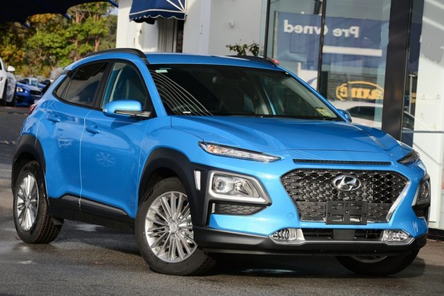 New Hyundai Kona Elite D-CT AWD, Indooroopilly, 2019 Hyundai Kona Elite D-CT AWD Wagon