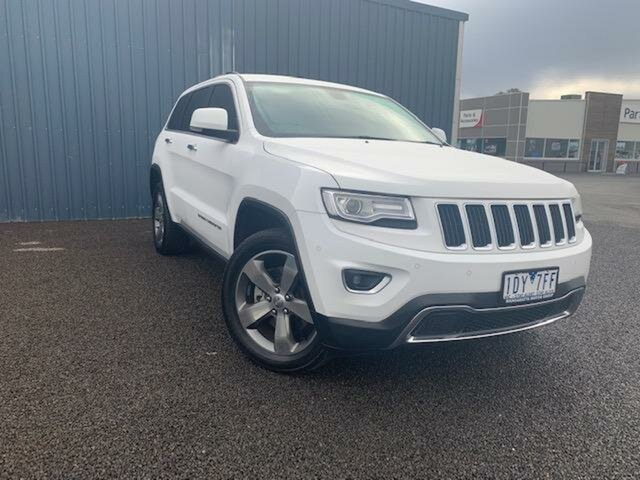 Used Jeep Grand Cherokee Limited (4x4), Wangaratta, 2015 Jeep Grand Cherokee Limited (4x4) Wagon
