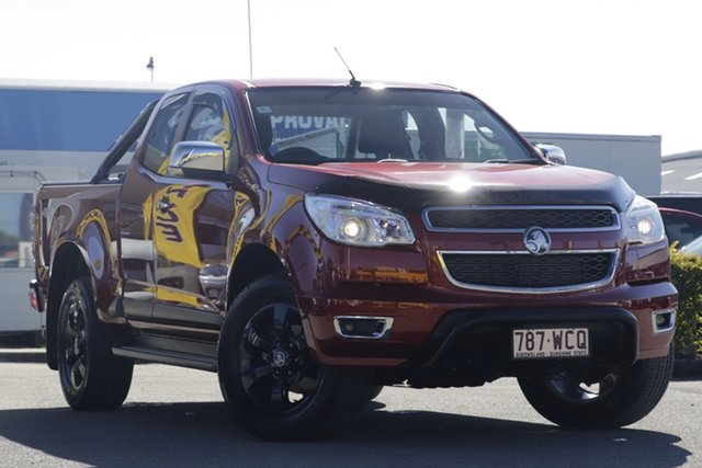 Used Holden Colorado LTZ Space Cab, Bowen Hills, 2015 Holden Colorado LTZ Space Cab Utility
