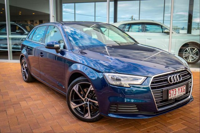 Demonstrator, Demo, Near New Audi A3, Toowoomba, 2019 Audi A3 Hatchback