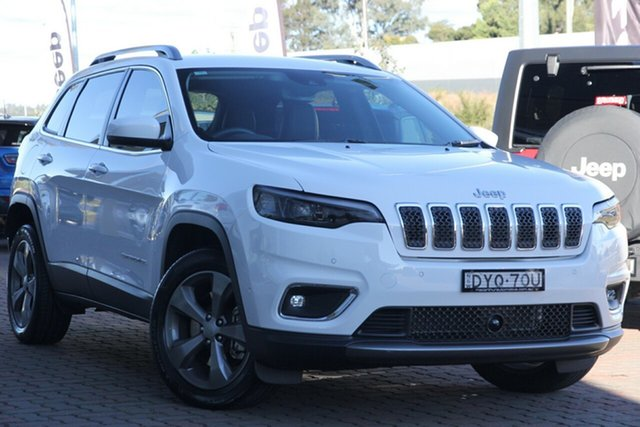 Discounted Demonstrator, Demo, Near New Jeep Cherokee Limited, Narellan, 2018 Jeep Cherokee Limited SUV