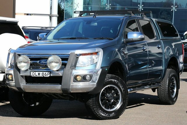 Used Ford Ranger XLT 3.2 (4x4), Brookvale, 2012 Ford Ranger XLT 3.2 (4x4) Dual Cab Utility
