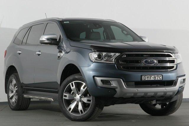 Discounted Used Ford Everest Titanium, Campbelltown, 2017 Ford Everest Titanium SUV
