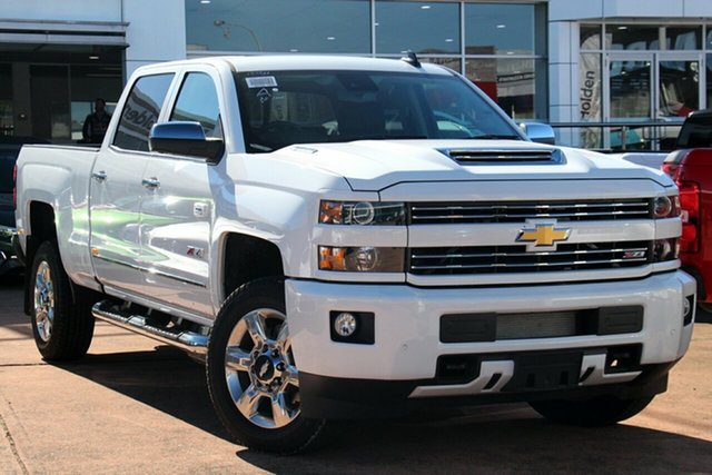 Demonstrator, Demo, Near New Chevrolet Silverado 2500HD Pickup Crew Cab LTZ Custom Sport Edition, Brookvale, 2018 Chevrolet Silverado 2500HD Pickup Crew Cab LTZ Custom Sport Edition Utility