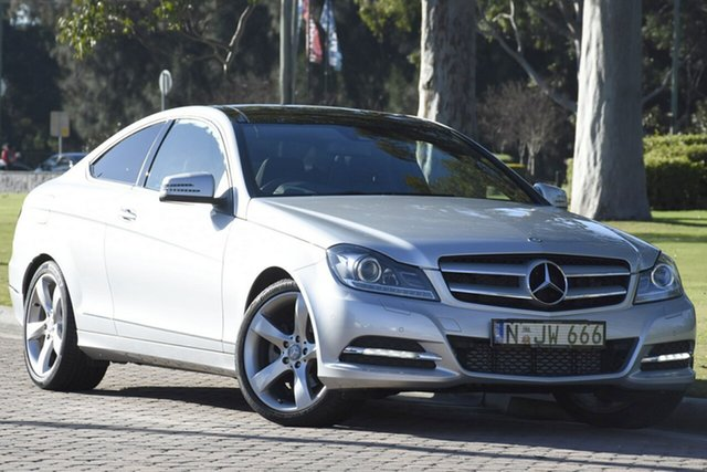 Discounted Used Mercedes-Benz C250 CDI BlueEFFICIENCY 7G-Tronic, Warwick Farm, 2012 Mercedes-Benz C250 CDI BlueEFFICIENCY 7G-Tronic Coupe