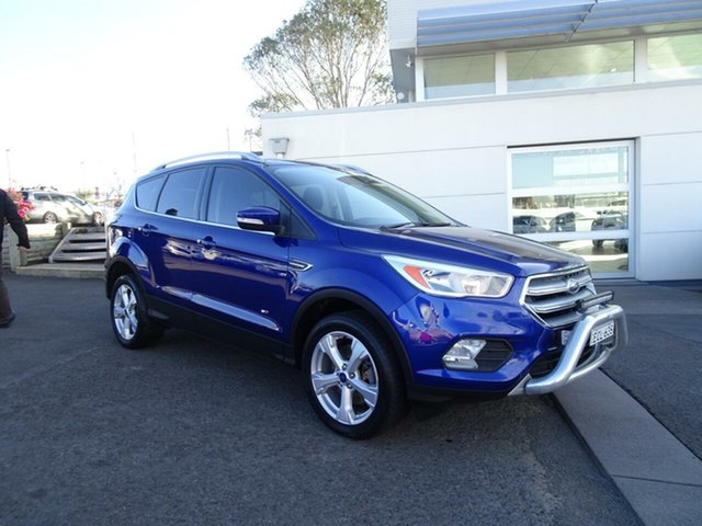 Used Ford Escape Trend PwrShift AWD, Nowra, 2017 Ford Escape Trend PwrShift AWD Wagon