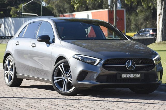 Demonstrator, Demo, Near New Mercedes-Benz A250 Limited Edition D-CT 4MATIC, Warwick Farm, 2018 Mercedes-Benz A250 Limited Edition D-CT 4MATIC Hatchback