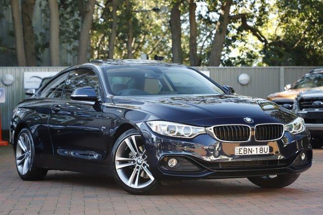 Used BMW 420i Sport Line, Artarmon, 2015 BMW 420i Sport Line Coupe