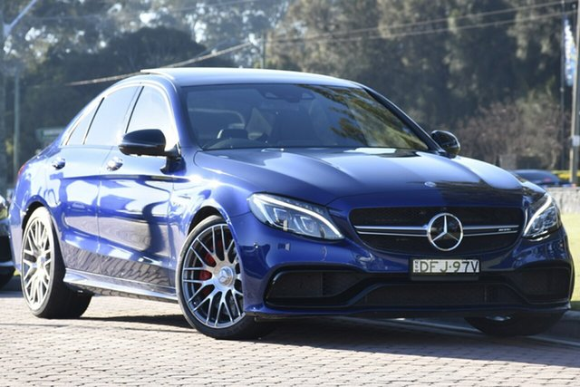 Discounted Used Mercedes-Benz C63 AMG SPEEDSHIFT MCT S, Warwick Farm, 2016 Mercedes-Benz C63 AMG SPEEDSHIFT MCT S Sedan