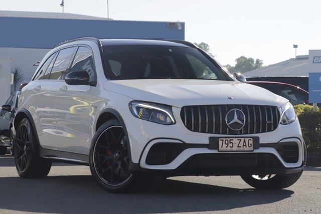 Used Mercedes-Benz GLC63 AMG SPEEDSHIFT MCT 4MATIC+ S, Bowen Hills, 2018 Mercedes-Benz GLC63 AMG SPEEDSHIFT MCT 4MATIC+ S Wagon