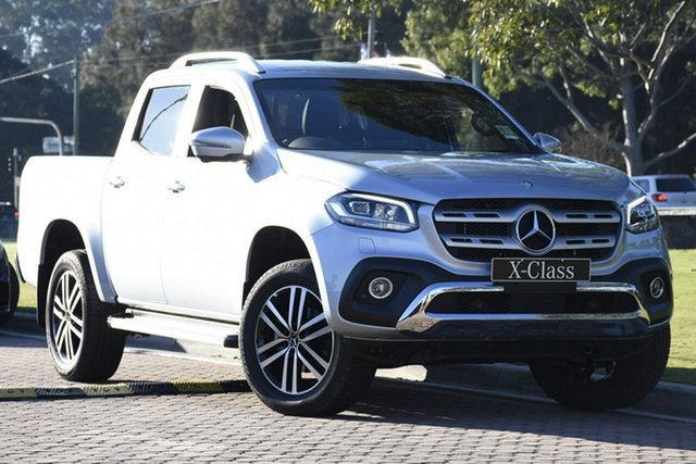 Discounted Demonstrator, Demo, Near New Mercedes-Benz X-Class X250d 4MATIC Power, Narellan, 2019 Mercedes-Benz X-Class X250d 4MATIC Power Utility