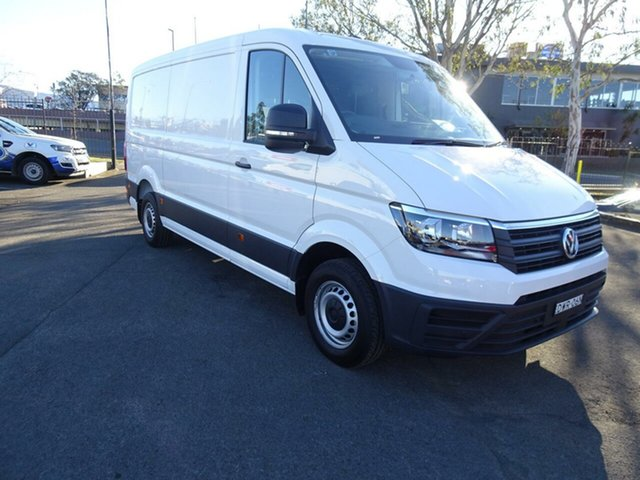 Discounted Demonstrator, Demo, Near New Volkswagen Crafter 35 MWB TDI410, Nowra, 2018 Volkswagen Crafter 35 MWB TDI410 Van