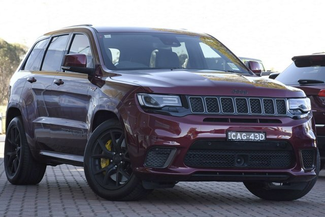 Discounted Demonstrator, Demo, Near New Jeep Grand Cherokee Trackhawk, Narellan, 2018 Jeep Grand Cherokee Trackhawk Wagon