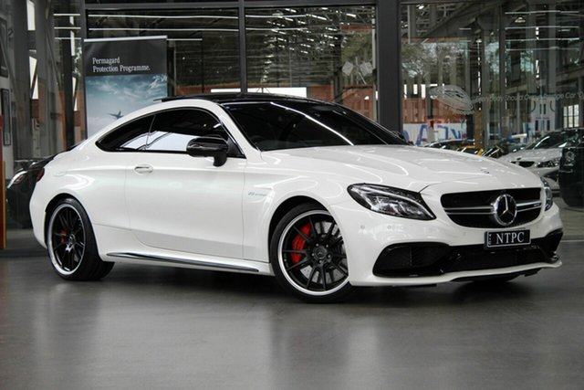 Used Mercedes-Benz C63 AMG SPEEDSHIFT MCT S, North Melbourne, 2016 Mercedes-Benz C63 AMG SPEEDSHIFT MCT S Coupe