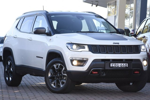 Discounted Demonstrator, Demo, Near New Jeep Compass Trailhawk, Narellan, 2018 Jeep Compass Trailhawk SUV