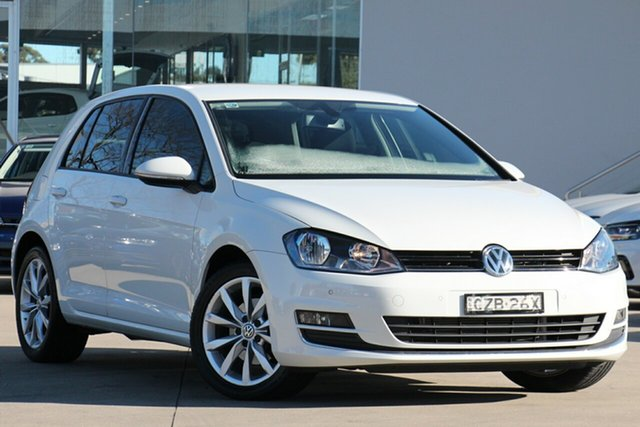 Used Volkswagen Golf 110TDI DSG Highline, Waitara, 2015 Volkswagen Golf 110TDI DSG Highline Hatchback