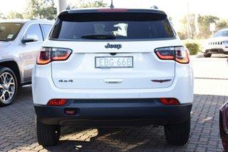 2018 Jeep Compass Trailhawk SUV.