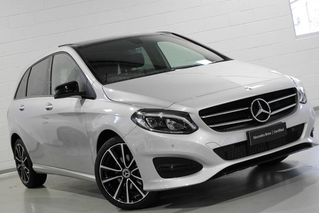 Used Mercedes-Benz B-Class B180 DCT, Chatswood, 2018 Mercedes-Benz B-Class B180 DCT Hatchback