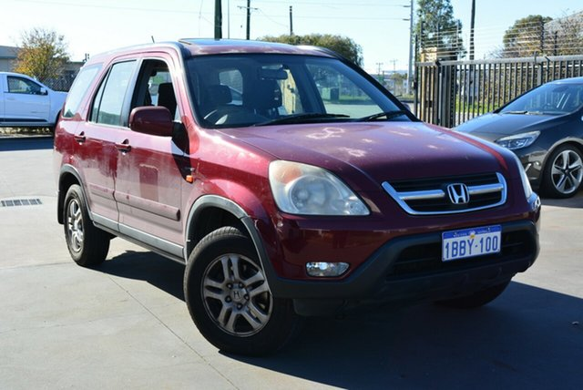 Used Honda CR-V (4x4) Sport, Kewdale, 2002 Honda CR-V (4x4) Sport Wagon