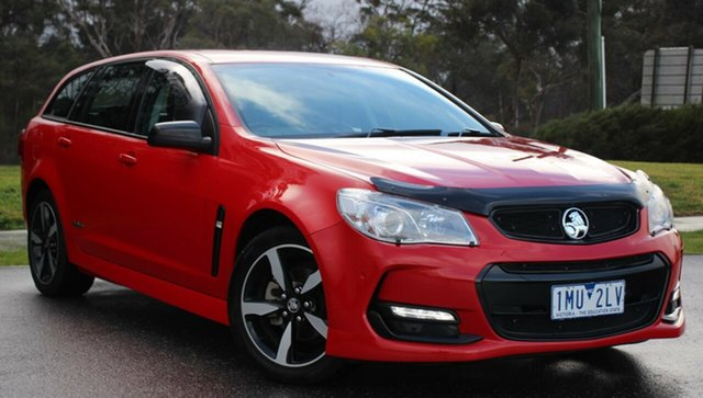 Used Holden Commodore SV6 Sportwagon Black, Officer, 2016 Holden Commodore SV6 Sportwagon Black Wagon