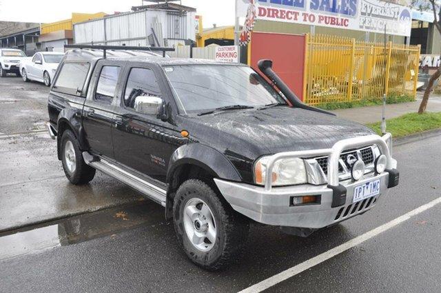 Used Nissan Navara ST-R (4x4), Hoppers Crossing, 2004 Nissan Navara ST-R (4x4) Dual Cab Pick-up