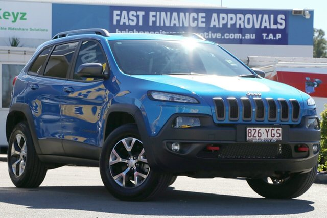 Used Jeep Cherokee Trailhawk, Toowong, 2017 Jeep Cherokee Trailhawk Wagon