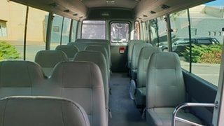 2008 Toyota Coaster Standard (LWB) Bus.