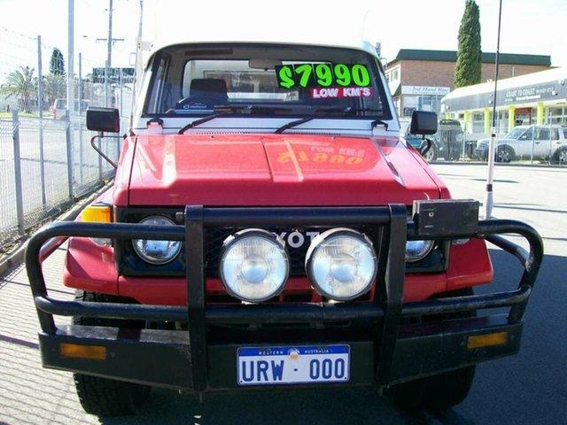 Used Toyota Landcruiser, Wangara, 1989 Toyota Landcruiser Trayback