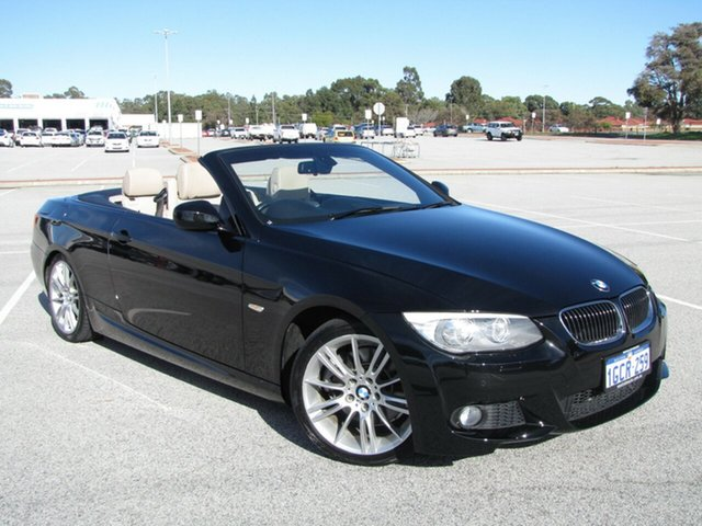 Used BMW 3 Series 330d Steptronic, Maddington, 2010 BMW 3 Series 330d Steptronic Convertible
