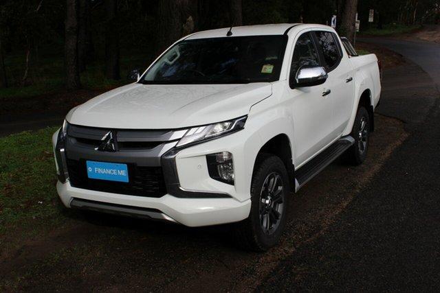 Demonstrator, Demo, Near New Mitsubishi Triton GLS Double Cab, Cheltenham, 2019 Mitsubishi Triton GLS Double Cab Utility