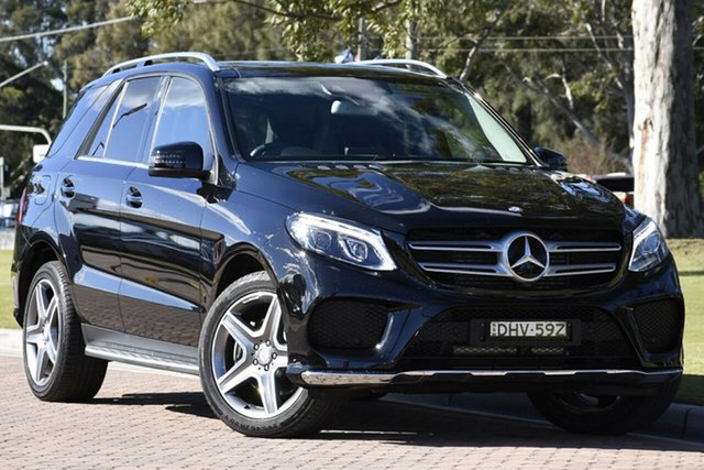 Discounted Used Mercedes-Benz GLE350 d 9G-Tronic 4MATIC, Warwick Farm, 2016 Mercedes-Benz GLE350 d 9G-Tronic 4MATIC SUV