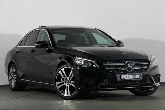 Demonstrator, Demo, Near New Mercedes-Benz C300 9G-Tronic, Campbelltown, 2019 Mercedes-Benz C300 9G-Tronic Sedan