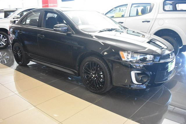 Demonstrator, Demo, Near New Mitsubishi Lancer Black Edition, Nailsworth, 2017 Mitsubishi Lancer Black Edition Sedan