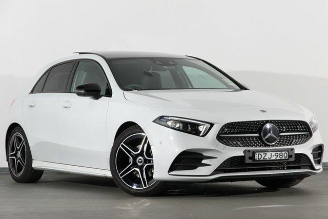 Demonstrator, Demo, Near New Mercedes-Benz A200 D-CT, Campbelltown, 2018 Mercedes-Benz A200 D-CT Hatchback