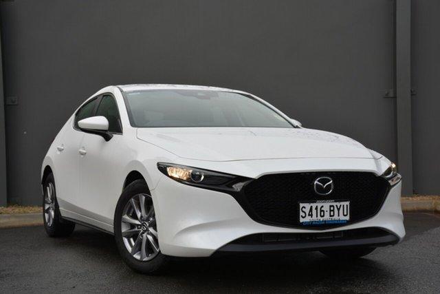 Demonstrator, Demo, Near New Mazda 3 G20 SKYACTIV-MT Pure, Cheltenham, 2019 Mazda 3 G20 SKYACTIV-MT Pure Hatchback