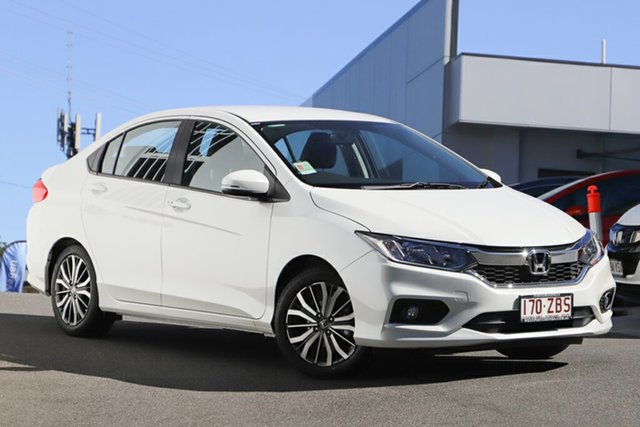 Demonstrator, Demo, Near New Honda City VTi-L, Indooroopilly, 2018 Honda City VTi-L Sedan