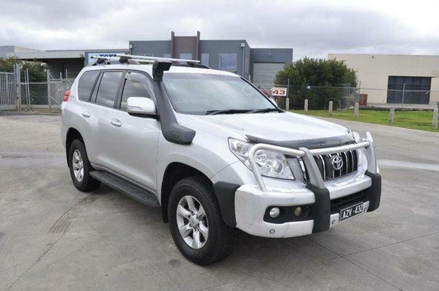 Used Toyota Landcruiser Prado Altitude (4x4), Hoppers Crossing, 2012 Toyota Landcruiser Prado Altitude (4x4) Wagon